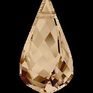 Swarovski Pendant 6020 - 30mm, Crystal Golden Shadow (001 GSHA), 12pcs