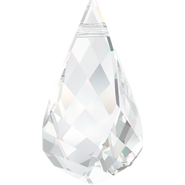Swarovski Pendant 6020 - 37mm, Crystal (001), 6pcs