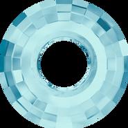 Swarovski Pendant 6039 - 25mm, Aquamarine (202), 24pcs