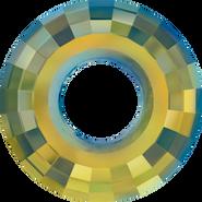 Swarovski Pendant 6039 - 25mm, Crystal Iridescent Green (001 IRIG), 24pcs