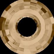 Swarovski Pendant 6039 - 38mm, Crystal Golden Shadow (001 GSHA), 9pcs