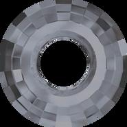 Swarovski Pendant 6039 - 38mm, Crystal Silver Night (001 SINI), 9pcs