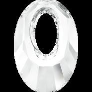 Swarovski Pendant 6040 - 40mm, Crystal (001), 6pcs
