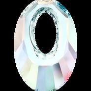 Swarovski Pendant 6040 - 40mm, Crystal Aurore Boreale (001 AB), 6pcs