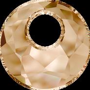 Swarovski Pendant 6041 - 18mm, Crystal Golden Shadow (001 GSHA), 30pcs
