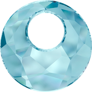 Swarovski Pendant 6041 - 28mm, Aquamarine (202), 12pcs