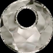 Swarovski Pendant 6041 - 38mm, Crystal Satin (001 SAT), 6pcs