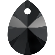 Swarovski Pendant 6128 - 10mm, Jet (280), 144pcs