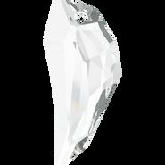 Swarovski Pendant 6150 - 50mm, Crystal (001), 9pcs