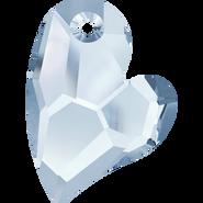 Swarovski Pendant 6261 - 36mm, Crystal Blue Shade (001 BLSH), 12pcs