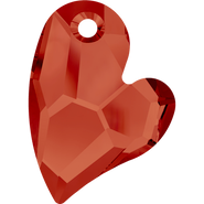 Swarovski Pendant 6261 - 36mm, Crystal Red Magma (001 REDM), 12pcs