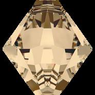 Swarovski Pendant 6328 - 8mm, Crystal Golden Shadow (001 GSHA), 288pcs