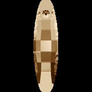 Swarovski Pendant 6470 - 40mm, Crystal Golden Shadow (001 GSHA), 18pcs