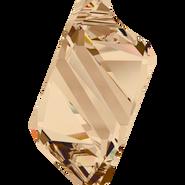Swarovski Pendant 6650 - 22mm, Crystal Golden Shadow (001 GSHA), 24pcs