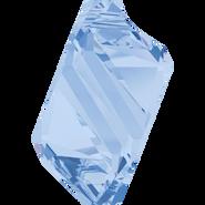 Swarovski Pendant 6650 - 22mm, Light Sapphire (211), 24pcs