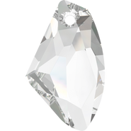 Swarovski Pendant 6656 - 27mm, Crystal (001), 30pcs