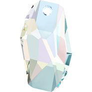 Swarovski Pendant 6673 - 38mm, Crystal Aurore Boreale (001 AB), 6pcs