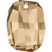 Swarovski Pendant 6685 - 19mm, Crystal Golden Shadow (001 GSHA), 48pcs