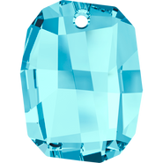 Swarovski Pendant 6685 - 28mm, Aquamarine (202), 24pcs
