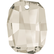 Swarovski Pendant 6685 - 28mm, Crystal Silver Shade (001 SSHA), 24pcs