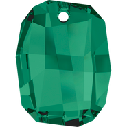 Swarovski Pendant 6685 - 28mm, Emerald (205), 24pcs