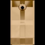 Swarovski Pendant 6696 - 20mm, Crystal Golden Shadow (001 GSHA), 24pcs
