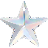 Swarovski Pendant 6714 - 28mm, Crystal Aurore Boreale (001 AB), 24pcs