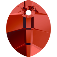 Swarovski Pendant 6734 - 23mm, Crystal Red Magma (001 REDM), 30pcs