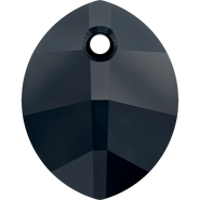 Swarovski Pendant 6734 - 23mm, Jet (280), 30pcs