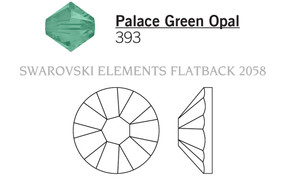 Swarovski 2058# - 7ss Palace Green Opal, F, 1440pcs, (2-11) Foiled