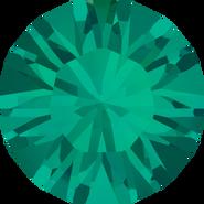 Swarovski Round Stone 1028 - pp12, Emerald (205) Foiled, 1440pcs