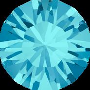 Swarovski Round Stone 1028 - pp8, Aquamarine (202) Foiled, 1440pcs