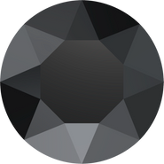 Swarovski Round Stone 1088 - pp16, Jet (280) Unfoiled, 1440pcs