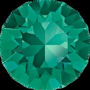 Swarovski Round Stone 1088 - pp28, Emerald (205) Foiled, 1440pcs