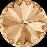Swarovski Round Stone 1122 - 14mm, Crystal Golden Shadow (001 GSHA) Foiled, 144pcs