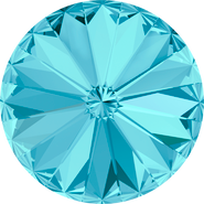 Swarovski Round Stone 1122 - 18mm, Aquamarine (202) Foiled, 72pcs