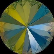 Swarovski Round Stone 1122 - ss39, Crystal Iridescent Green (001 IRIG) Foiled, 144pcs