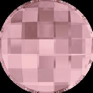 Swarovski Flatback 2035 - 10mm, Crystal Antique Pink (001 ANTP) Foiled, No Hotfix, 192pcs