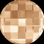 Swarovski Flatback 2035 - 10mm, Crystal Golden Shadow (001 GSHA) Foiled, No Hotfix, 192pcs