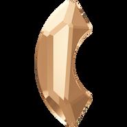 Swarovski Hotfix 2037 - 8mm, Crystal Golden Shadow (001 GSHA) Unfoiled, Hotfix, 240pcs