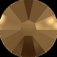 Swarovski Flatback 2058 - ss7, Crystal Dorado (001 DOR) Foiled, No Hotfix, 1440pcs