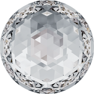 Swarovski Flatback 2072 - 8mm, Crystal (001) Foiled, No Hotfix, 288pcs