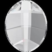 Swarovski Flatback 2204 - 10x8mm, Crystal (001) Foiled, No Hotfix, 144pcs