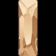 Swarovski Flatback 2555 - 8x2.6mm, Crystal Golden Shadow (001 GSHA) Foiled, No Hotfix, 240pcs