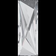 Swarovski Flatback 2570 - 50x16mm, Crystal (001) Foiled, No Hotfix, 6pcs