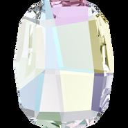 Swarovski Flatback 2585 - 10mm, Crystal Aurore Boreale (001 AB) Foiled, No Hotfix, 288pcs