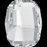Swarovski Flatback 2585 - 8mm, Crystal (001) Foiled, No Hotfix, 288pcs