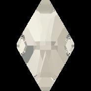 Swarovski Flatback 2709 - 10x6mm, Crystal Silver Shade (001 SSHA) Foiled, No Hotfix, 288pcs