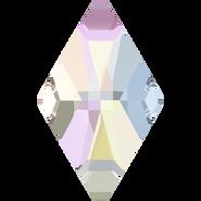 Swarovski Flatback 2709 - 13x8mm, Crystal Aurore Boreale (001 AB) Foiled, No Hotfix, 144pcs