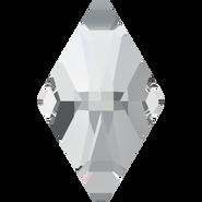 Swarovski Flatback 2709 - 13x8mm, Crystal (001) Foiled, No Hotfix, 144pcs